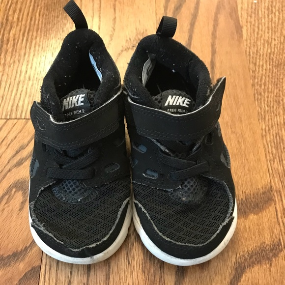 buy online ec673 c007d Toddler Nike free run boys sneakers